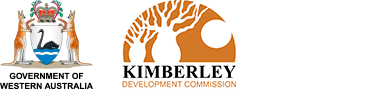 Government of Western Australia Kimberley Development Commission Logos