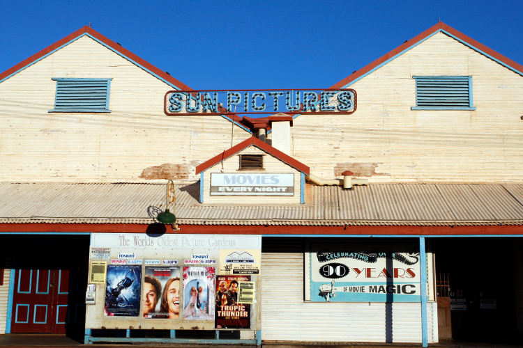 Sun Pictures, Broome's historic open-air cinema
