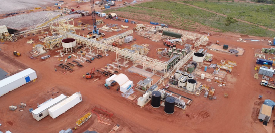 Northern Minerals Pilot Plant Browns Range