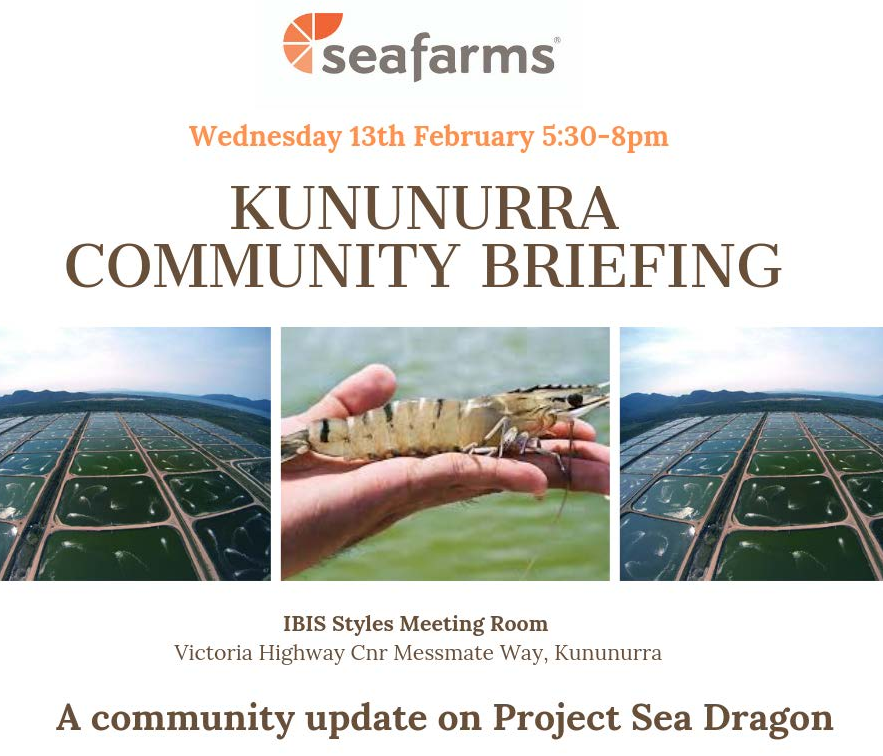 Sea Farms Community Briefing